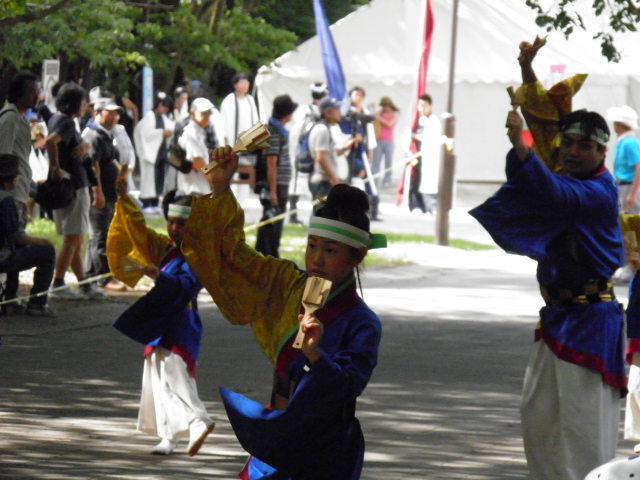 弥生桜(豊島区)お祭り最終日は都内のチームが過半数を占めました