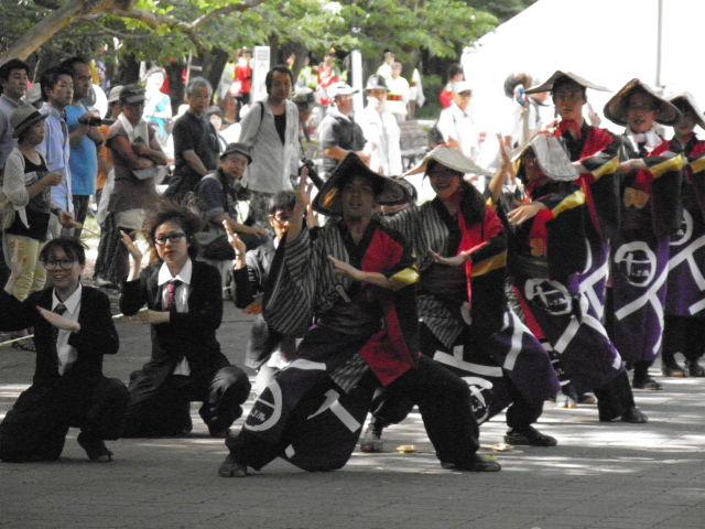 +ism(東京都)地元チームが増えて、より地域のお祭りとして根ざしていくといいですね