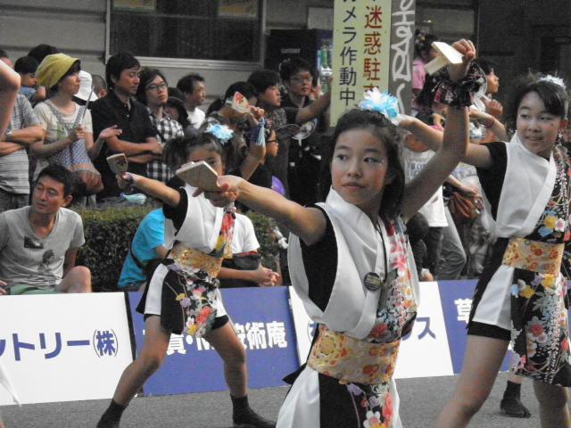 team清門(草加市)福島のチームとの合同演舞もあるなど、終始楽しい雰囲気に包まれた草加でした