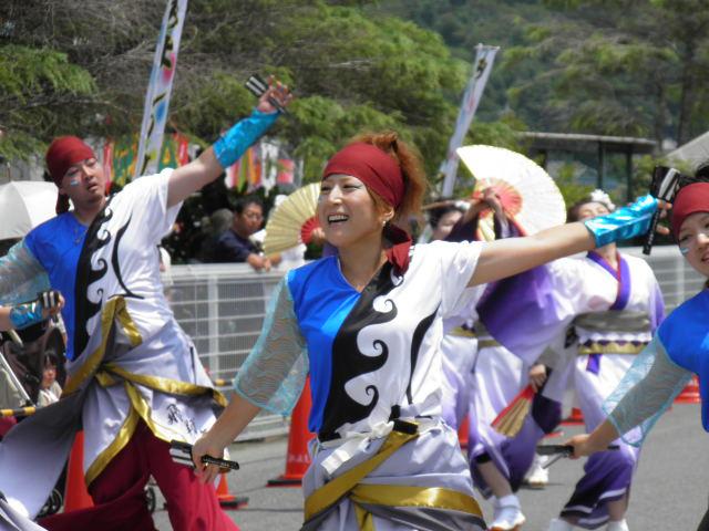 飛翔舞神(茨城県神栖市) 三芳は千葉でも南端の方ですが、遠く茨城からも参加が