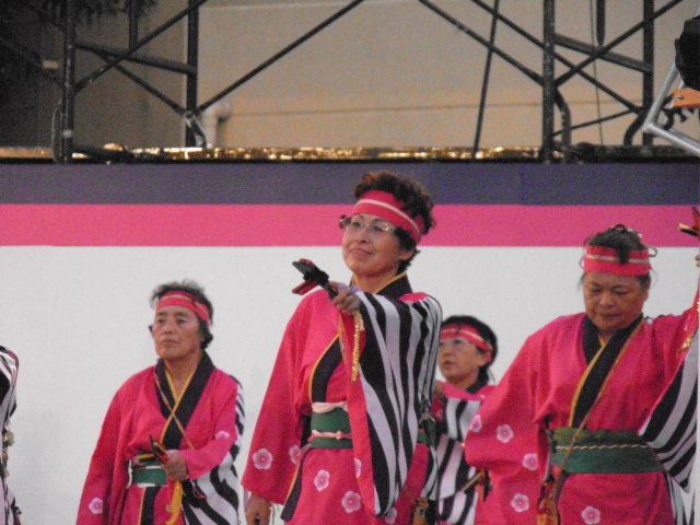 JAいるま野北部女性部(坂戸市)メイン会場のステージ会場が唯一のステージ