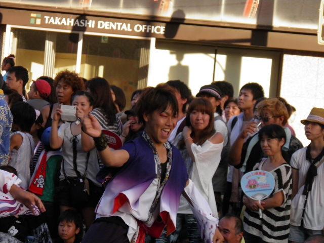 千葉工業大学よさこいソーラン風神(習志野市)12年目の親子三代でのよさこい、大分定着してきたようですね